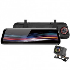 Camera Auto Dubla Oglinda iUni Dash T11+, Touchscreen, Display 9.66 inch, Full HD, Night Vision, WDR, 170 grade, by Anytek