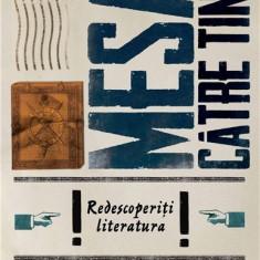Mesaj catre tineri. Redescoperiti literatura! | Alex. Stefanescu