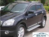 Pachet prelungiri off-road cu Praguri Laterale compatibil cu Nissan Qashqai (J10) (2007-2010)