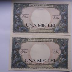 Romania -1000 LEI 1941-SEPTEMBRIE-Consecutive