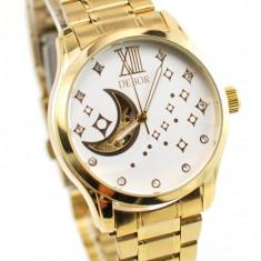 Ceas dama elegant Debor Automatic Gold D23XGOLD