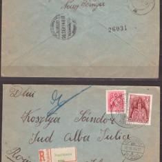 1940 - Plic circulat Baia Mare - Bucuresti - Abrud