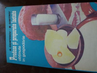 produse si preparate lactate obtinute in gospodarie  chintescu foto