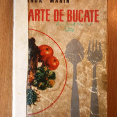 SANDA MARIN, CARTE DE BUCATE, editie veche, 1968, deteriorata, r3b