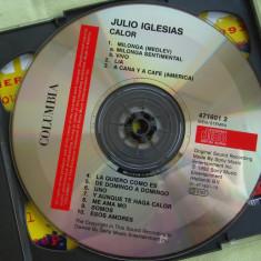 JULIO IGLESIAS - Calor / La Carretera - 2 C D Originale, CD