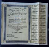 Actiuni 1945 Seceratoarea - Prima filatura romana - titlu - actiune