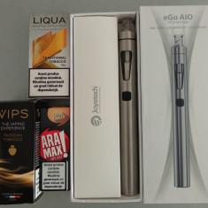 Kit tigara electronica Joyetech eGo AIO, 1500 mAh, 2ml, cadou 3 arome