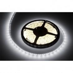 Banda LED 300 diode SMD tip 5050, 5 m, 1.2 A, 12 V, culoare alb rece