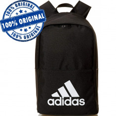 Rucsac Adidas Classic - rucsac original - ghiozdan scoala, Negru, Marime universala
