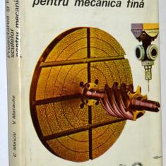 Proiectarea si tehnologia sculelor pentru mecanica fina