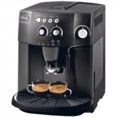 Espressor automat DeLonghi Caffe Magnifica ESAM4000B, 1450 W, 15 bar, 1.8 l, rasnita, autocuratare, negru