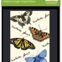 Semn de carte magnetic Fluturi
