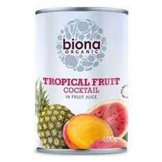 Cocktail de Fructe Tropicale Bio 400gr Biona Cod: 5032722316546