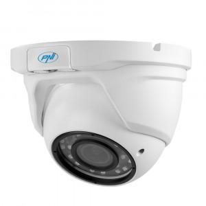 Resigilat : Camera supraveghere video PNI House AHD47 dome varifocala 2.8-12 mm 10