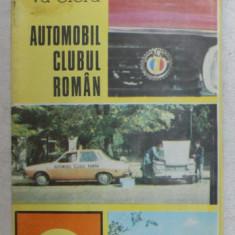 CE ESTE SI CE VA OFERA , AUTOMOBIL CLUBUL ROMAN