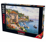 Cumpara ieftin Puzzle Anatolian Harbor Garden, 1000 piese