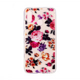 Cumpara ieftin Carcasa Husa Huawei P20 Lite Model Bloming Flowers, Antisoc + Folie sticla securizata Husa Huawei P20 Lite Tempered Glass Viceversa