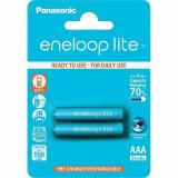 Acumulatori Panasonic Eneloop LITE AAA R3 550mAh 2 Bucati / Set