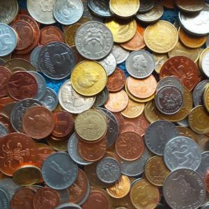 500 MONEDE DIFERITE STRAINE+ ROMANESTI = DE LA 1 LEU:  LICITATIE LUNA FEBRUARIE!
