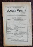 REVISTA SCOALA VREMII NR 8 - OCTOMBRIE 1935