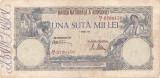 ROMANIA 100000 LEI APRILIE 1946 F