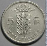 5 Franc 1949 Belgique, Europa, Cupru-Nichel