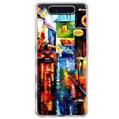 Husa Samsung Galaxy A80 / A90 TPU Multicolora