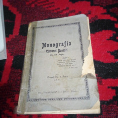 Monografia Comunei Bunesti din Jud.Arges-Preot Nic.I.Iancu