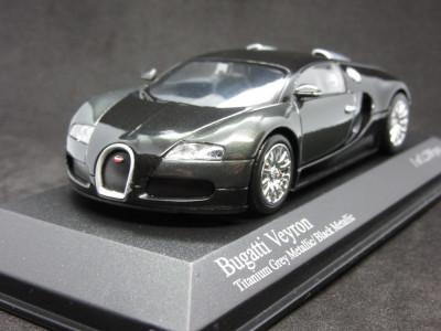 Macheta Bugatti Veyron Minichamps 1:43 foto