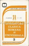 Cumpara ieftin Literatura Clasica Romana Si Universala - Lecturi Literare Clasele I-IV