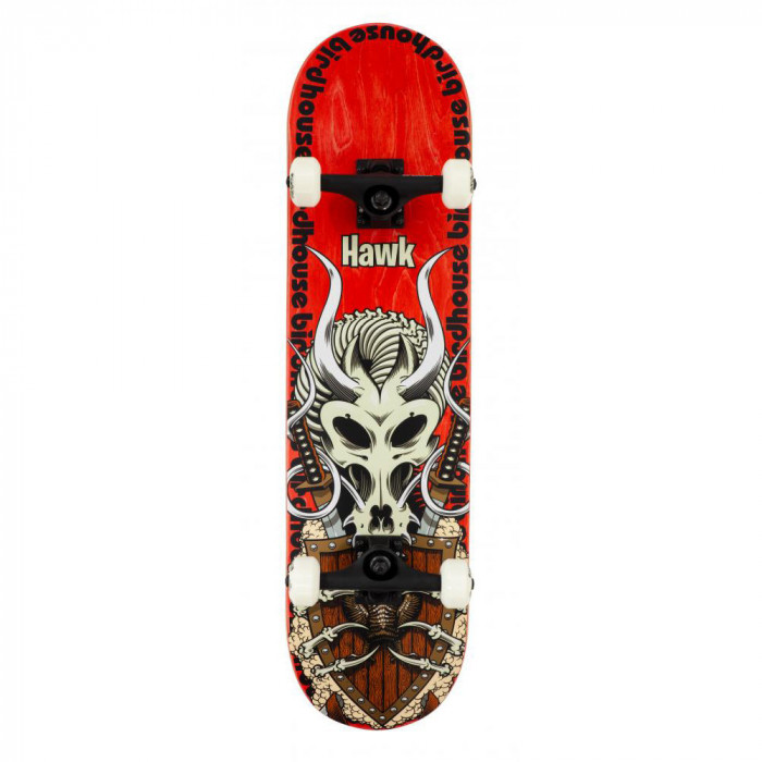 Skateboard Birdhouse Stage 3 Hawk Gladiator Red 8.125 inch