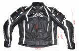 Costum moto IXS full protectii barbati marimea 52(L), Combinezoane