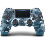 Controller wireless SONY PlayStation DualShock 4 V2, Blue Camouflage