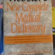 New complete medical dictionary – Webster