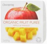 Piure Bio Mere Mango Paradisul Verde 2x100gr Cod: 5021554986768