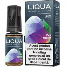 Lichid tigara electronica, LIQUA Ice Fruit, 12MG, 10ML e-liquid