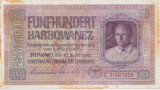 Ucraina 500 karbowanez 1942 UZATA