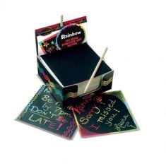 Cub Notes Hartie pentru Scriere prin Razuire