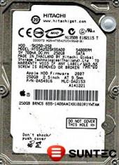Hdd Laptop 2.5 inch SATA 250GB 5400rpm 8Mb cache Hitachi 0A54906 foto