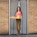 Perdea anti-ţânţari pt. uşi închidere magnetică, 100 x 210 cm, Model floral Best CarHome