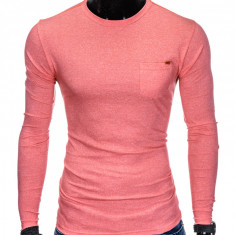 Bluza pentru barbati, din bumbac, corai, simpla, slim fit - L103
