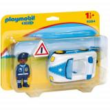 Figurina Masina de Politie - 1.2.3, Playmobil
