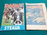 LOT 2 REVISTE SPORT FOTBAL: FOTBA STEAUA+ ARENA CAIET PROGRAM/ 1987
