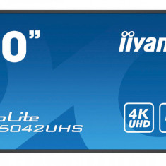 Monitor Iiyama Pro Lite LH5042UHS-B1 50 inch 8ms Ultra HD 4K Black
