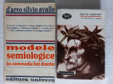 MODELE SEMIOLOGICE IN COMMEDIA LUI DANTE + DANTE ALIGHERI- D'ARCO SILVIO AVALLE