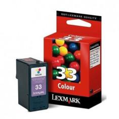 Cartus Original Lexmark Nr. 33 Color, Multicolor