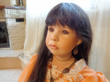 Sashiko.Papusa de colectie din portelan,Ruby doll ,editie limi 371/750 .H-102 cm