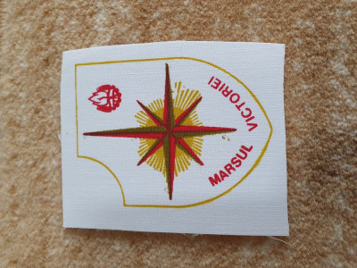 "Ecuson pionieresc, perioada comunista ""Cupa sperantelor"" foto"