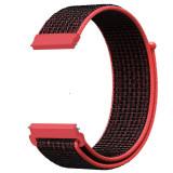 Curea material textil, Telescoape QR, 22mm, Barn Red