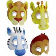 Masti Safari pentru petreceri set 8 buc